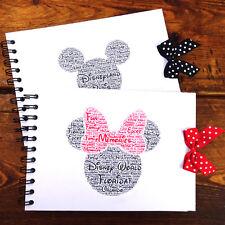 Disney Autograph Book, Mickey/Minnie Mouse, Disney Land/Disneyworld