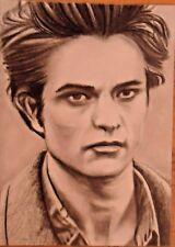 Twilight Saga Edward Cullen (Robert Pattison) by Artist Rachael A. C. Harper