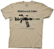 Firefly/Serenity Code Name Vera Gun Diagram Beige Adult T-Shirt Small New Unworn