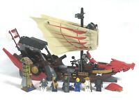 Lego 9446 Lego NINJAGO Destiny's Bounty 6 Minifigs  Retired 2012 99% complete
