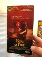 Born Of Fire - OOP Horror VHS NTSC HTF Rare (Middle Eastern Mysticism)