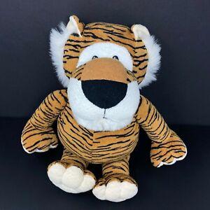 "Animal Alley Tiger Plush Brown Black Stripes 17"" Stuffed Animal Lion Toys R Us"