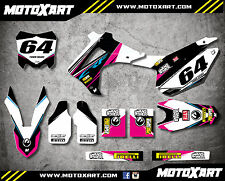Honda CRF 250 - 2014 - 2017 Full Custom Graphic Kit STREETF Style sticker kit