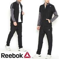Reebok TE Woven Tracksuit Men's Track Jacket & Track Pants Reduced RRP 64.99