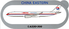 STICKER AUTOCOLLANT AIRBUS A330-300  CHINA EASTERN