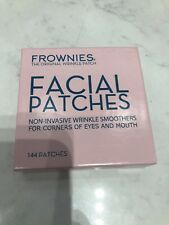 Frownies Facial Patches For Wrinkles On The Corners Of Eyes & Mouth -144 PATCHES