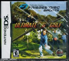 Original Frisbee Disc Sports: Ultimate & Golf (Nintendo DS, 2007) Factory Sealed