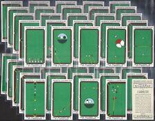 OGDENS-FULL SET- TRICK BILLIARDS (50 CARDS) - EXC+++