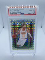 Trae Young Stained Glass Mosaic PSA 10 #4 SSP 2019 Hawks