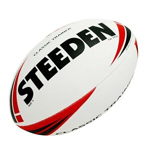 Steeden Classic Trainer Rugby League Ball Size 5, Mod, Mini