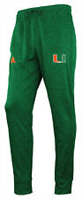 Adidas NCAA Men's Miami Hurricanes Climawarm MV Anthem Pant, Green