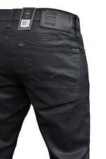 G-STAR 3301 Straight gewachste Baumwolle Herren. Jeans - Hose, Gerades Bein. Neu