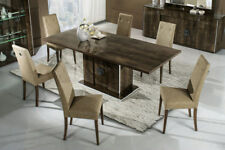 Athen Italian Dining Room Table with 6 Chairs
