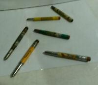 Catalina Island Frankfort KY TN Smoky Mtn Christian lot 6 bullet pencil vintage