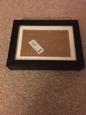 "Ikea Ribba Photo Frame Black  (8 x 6"") with mount NEW"