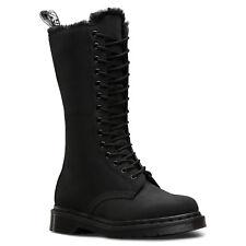 DR.MARTENS - 1 B 99 FL Cascade Split 22779001 noir bottes punk doublure Teddy