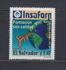 El Salvador 1999 Quality Control Sc 1512 Mint Never Hinged