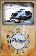 New listing Polaris 1976 Tx Starfire 340 snowmobile wood clock