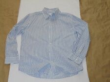Men's Old Navy Stripes Button Long Sleeve Cotton Shirt Size Large