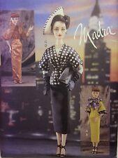 """UNCUT Vogue Craft MADRA DOLL Pattern 7440 Fashion 15 1/2"""" GENE Jacket Skirt 1950"""