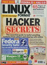 Linux Format UK March 2016 Hacker Secrets Staying Safe Online FREE SHIPPING sb