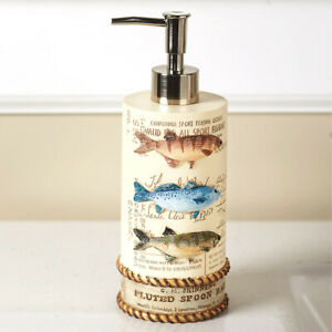 Catch of the Day Soap Lotion Soap Pump Dispenser All Sport Fishing Bath Kitchen