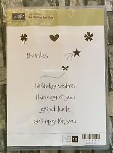 """Stampin Up! """"So Happy For You"""" Stamp Set #123220"""