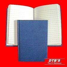 2 X A6 HARDBACK LINED RULED NOTEBOOK MANUSCRIPT BOOK CASEBOUND