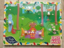 In The Night Garden UPSY DAISY Wooden Peg Puzzle 12+ Months