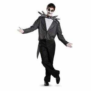 Disguise Nightmare Before Christmas Jack Skellington Adult Halloween Costume5686