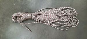 40m x 9.5 mm Low stretch kernmantle climbing rope