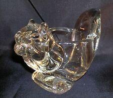 Vintage Avon Glass Squirrel Or Chipmunk Animal Candle Holder Votive