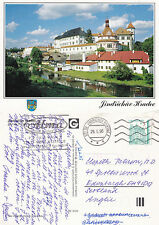 1990's JINDRICHUV HRADEC PRAGUE CZECH REPUBLIC COLOUR POSTCARD