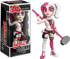 "FUNKO ROCK CANDY DC COMICS HARLEY QUINN PINK EXCLUSIVE 5"" DESIGNER VINYL FIGURE"