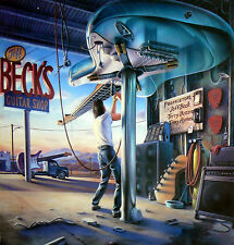 BECK'S GUITAR SHOP  LP WITH TERRY BOZZIO  AND TONY HYMAS 1989