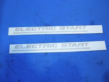 New Gold Norton Electric Start Decals # 06-6388  B94