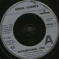 Donna Summer Unconditional Love 17.8cm Ws Ex / Gb Donna 2
