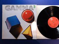 GAMMA 3 elektra 82 A1B1 Lp EX/MINT STUNNING UK 1ST PRESS,SUPERB AUDIO