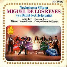 EP MIGUEL DE LOS REYES y su BALLET ARTE ESPAÑOL nochebuena gitana SPAIN 1963
