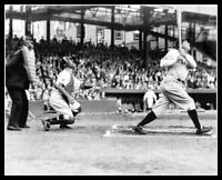 Babe Ruth Griffith Stadium Photo 8X10 - New York Yankees B&W