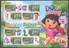 Australia Dora The Explorer Sheet In Folder Mint Nh