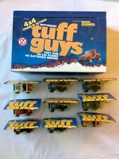 RARE 1982 & 1983 ROAD CHAMPS TUFF GUYS 4x4 TOY VEHICLES CARS JEEPS MILITARY NEW