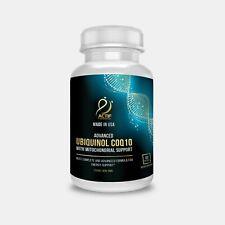 Actif Super Ubiquinol CoQ10 with Enhanced Mitochondrial Support, 200mg,120 Count