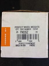 WHEEL TIRE PERFECT CLIP ON ZINC COATED FN035Z GRAMS WHEEL  WEIGHTS
