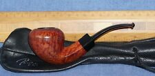 Tao pipe Pfeife bent Rhodesian / Bulldog Danish hand carved  H