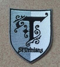 *NEW* St Trinians new style blazer / uniform iron on badge / patch.Fancy dress,