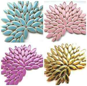 Petal Ceramic Mosaic Tiles in a Choice of Colours - 50g (approx. 50 petals)