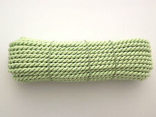 Twisted Cord Braid 3 Ply Twist Soutache  6,5 mm wide  - choice of meters (G)