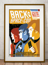 """Back to Space-Con 11""""X 17 Poster Star Trek Sci-Fi convention Star Wars Comic Con"""