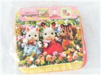 SYLVANIAN FAMILIES FAN CLUB MINI TOWEL INCLUDING 3 PIECES CALICO CRITTERS EPOCH